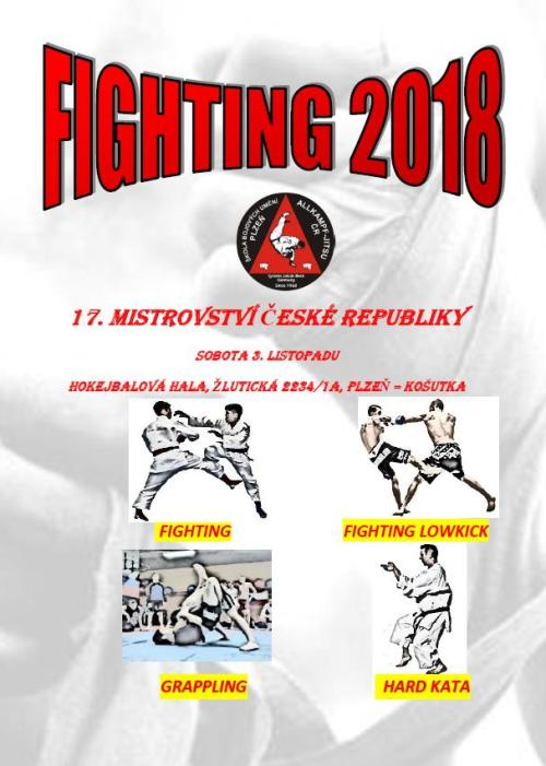 17. Mistrovství ČR AKJ Fighting:br:Fighting, LowKick, Grappling, Hard Kata