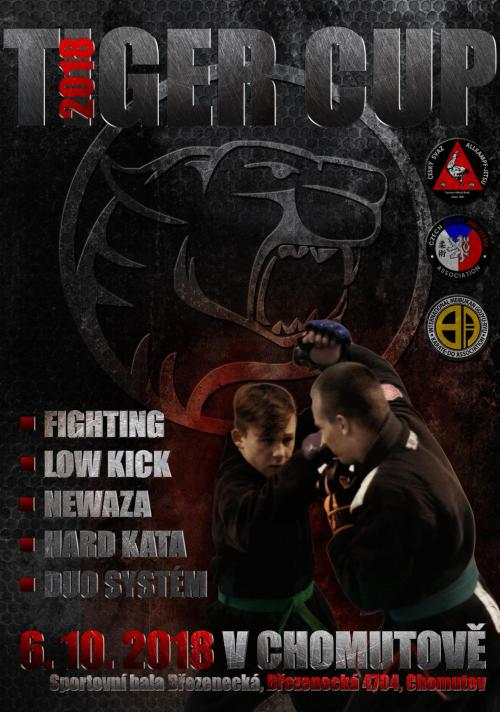 Tiger Cup Chomutov:br:Fighting, LowKick, Ne Waza
