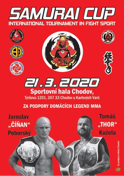 Samurai Cup (1.kolo):br:Fighting, Fighting FullContact, Grappling, Kata, Karate
